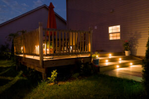 Check Out These Four Deck Lighting Installation Ideas and Let Us Install the Best Lights for You
